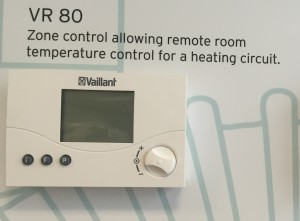 thermostat vaillant
